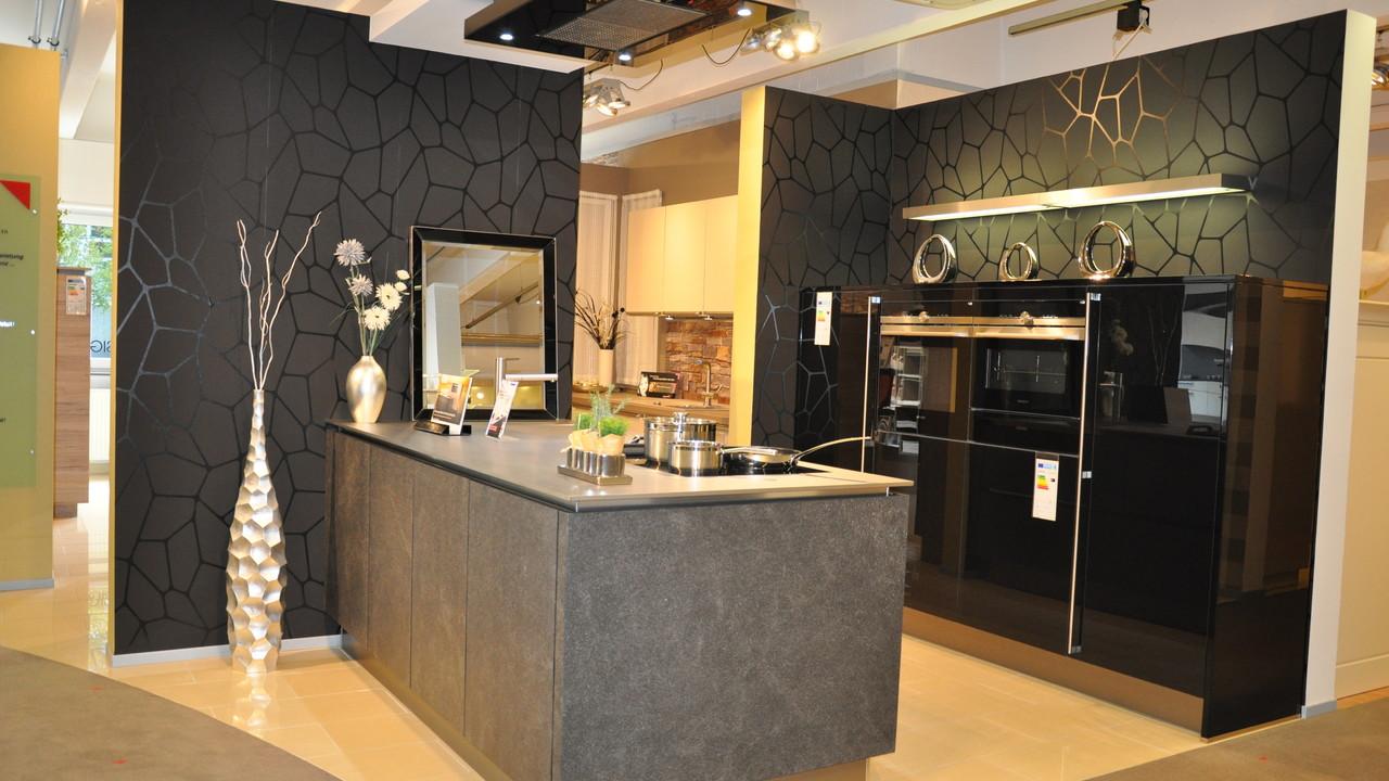 h cker av5090 designglas schwarz av7030 black star. Black Bedroom Furniture Sets. Home Design Ideas